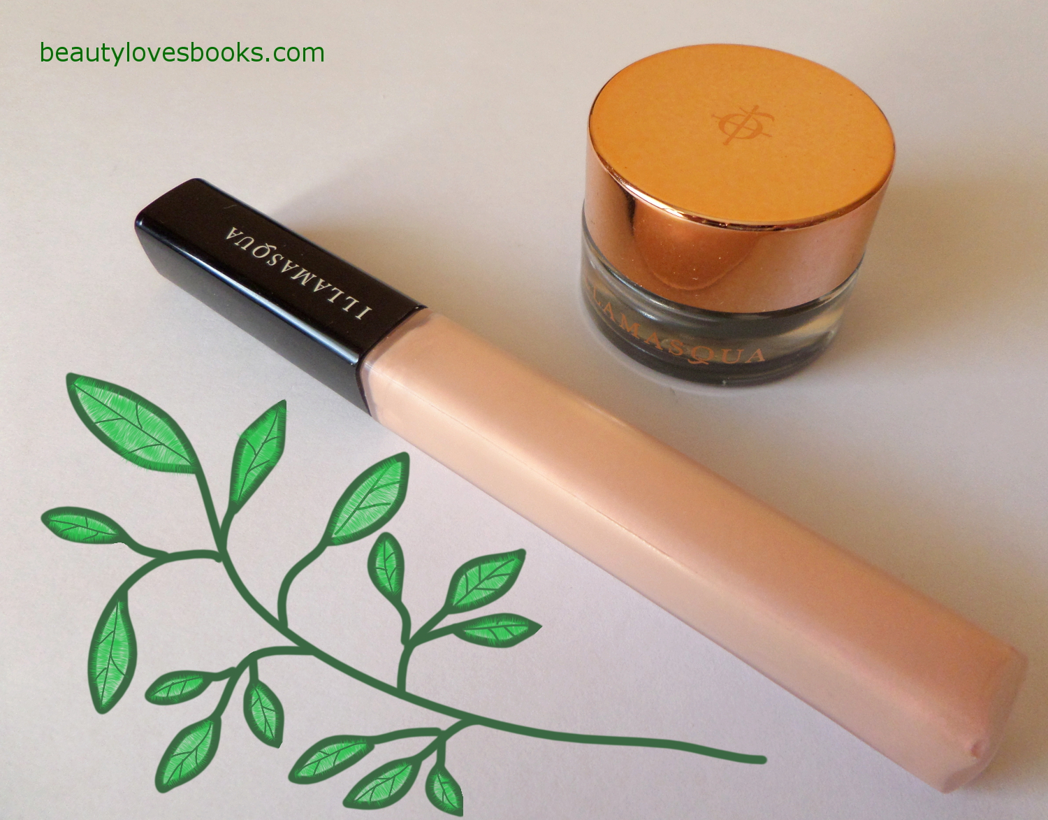 Illamasqua Vintage Metallix eyeshadow in Biblot and Illamasqua Sheer Lipgloss in Exquisite