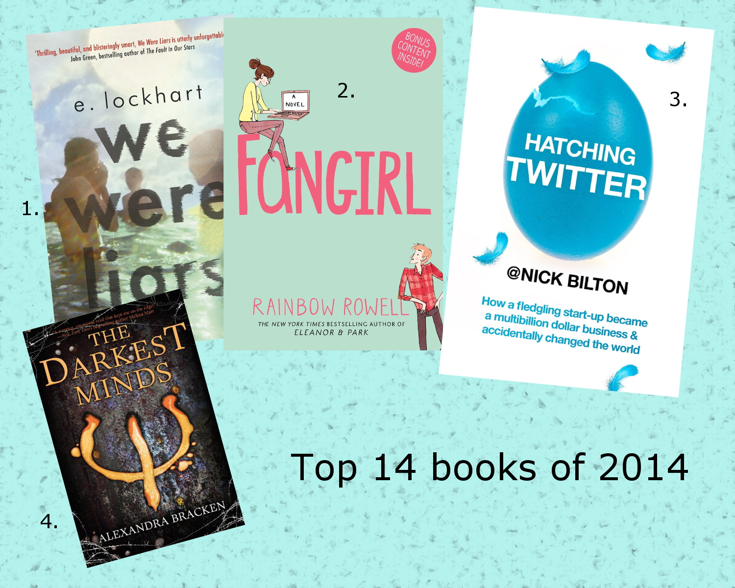 top 14 books of 2014