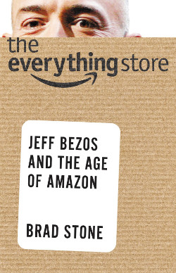 the everything store jeff bezos and the age of Amazon book cover