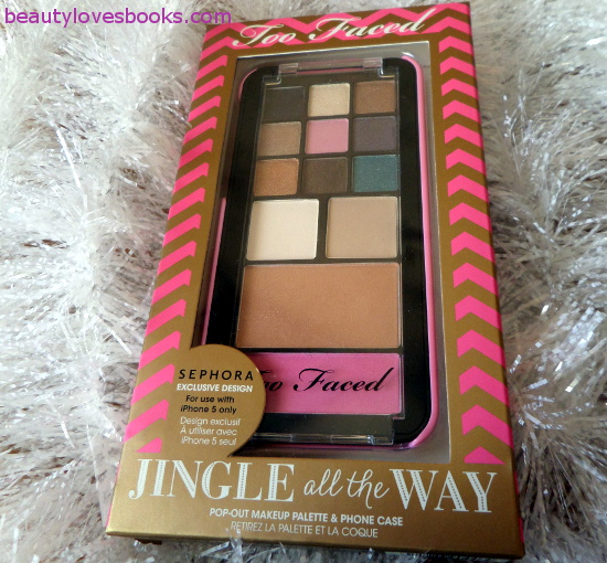 Too Faced iPhone pallete Jingle all the way