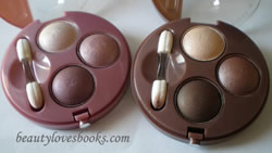Bourjois eyeshadow trios