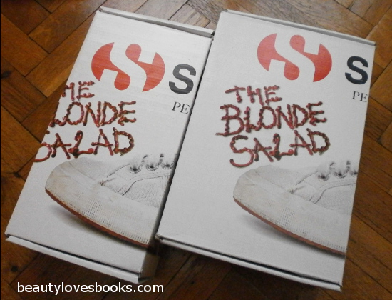 The blonde salad for Superga