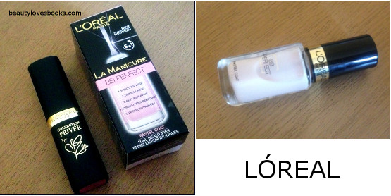 L'OREAL collection privee and nail BB cream