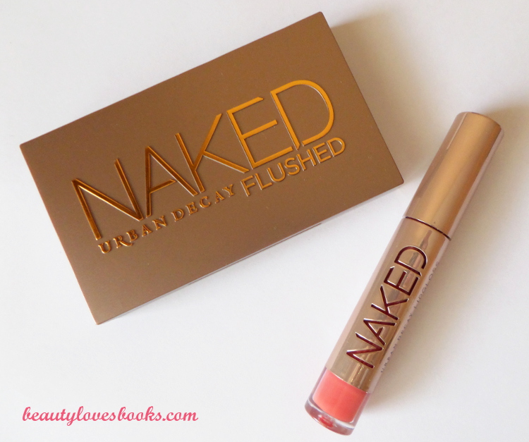 Urban Decay NAKED palette Flushed in Streak and Urban Decay Ultra Nourishing gloss in Streak