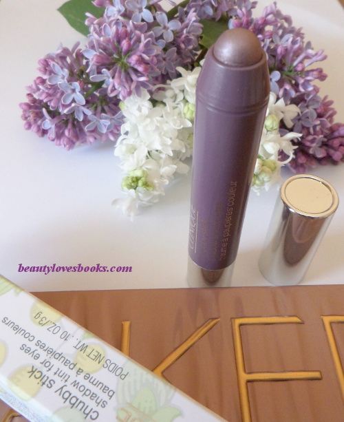 Clinique chubby stick shadow tint for eyes in 09 lavish lilac