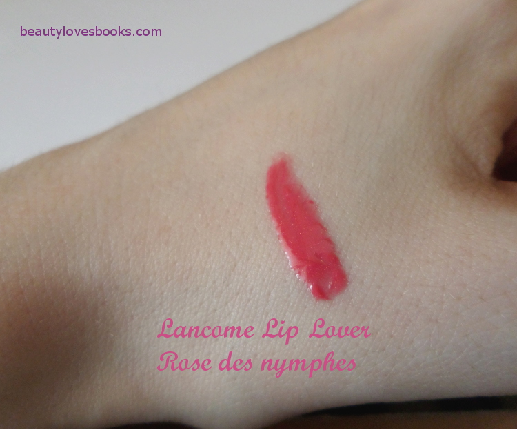 Lancome Lip Lover in 333 Rose des Nymphes swatch