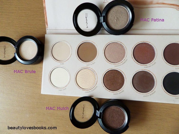 Zoeva Naturally yours palette MAC eyeshadows dupes