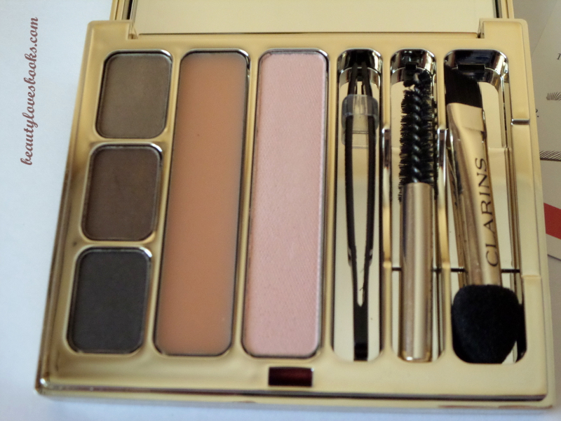 Clarins Perfect eyes & Brows palette fall 2014
