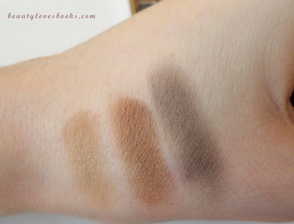 Clarins Perfect Eyes & Brows palette fall 2014 swatches