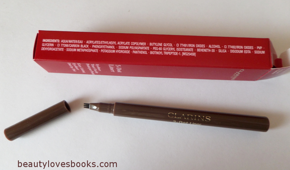 Clarins 3-dot liner fall 2014 in brown