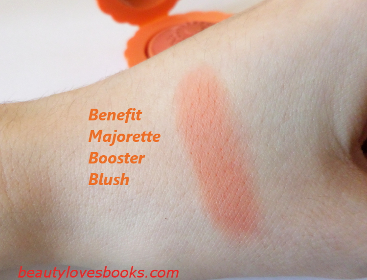 Benefit Majorette booster blush swatch