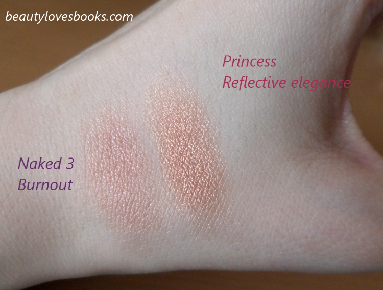 Zoeva Princess vs Naked 3