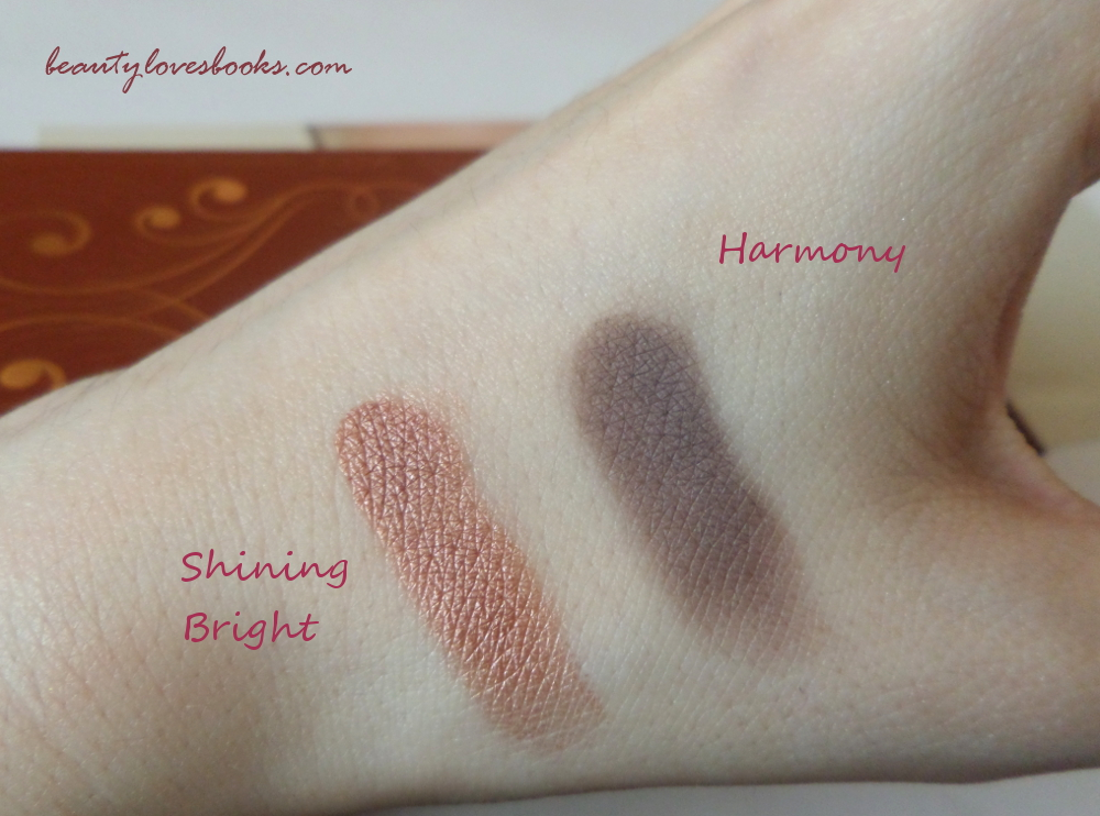Zoeva Princess swatches