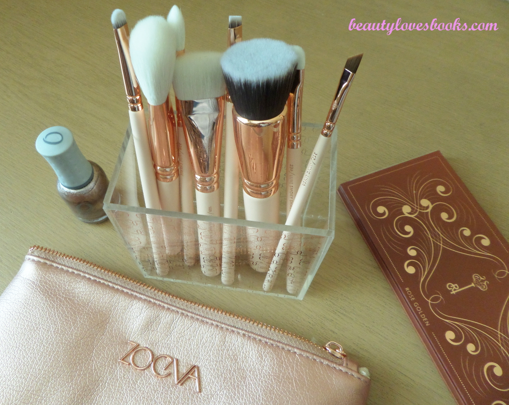 Четките Zoeva Rose Golden luxury set vol. 2