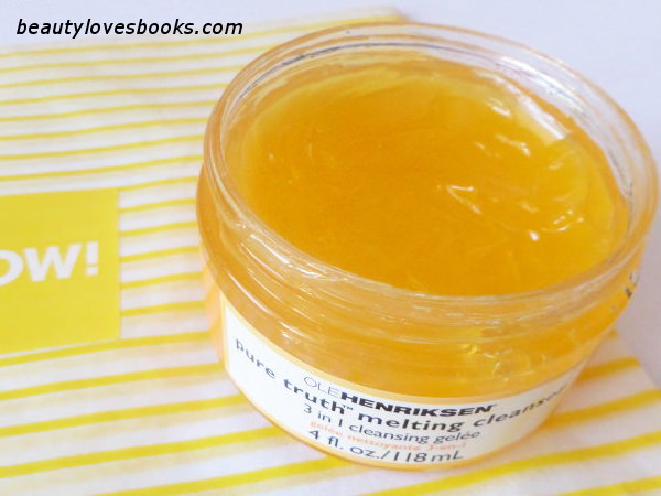 OLE HENRIKSEN pure truth melting cleanser