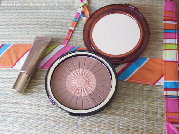 Clarins Summer 2016: Bronzing & Blush Compact and Ombré Waterproof Shimmering cream colour in 02 golden sand