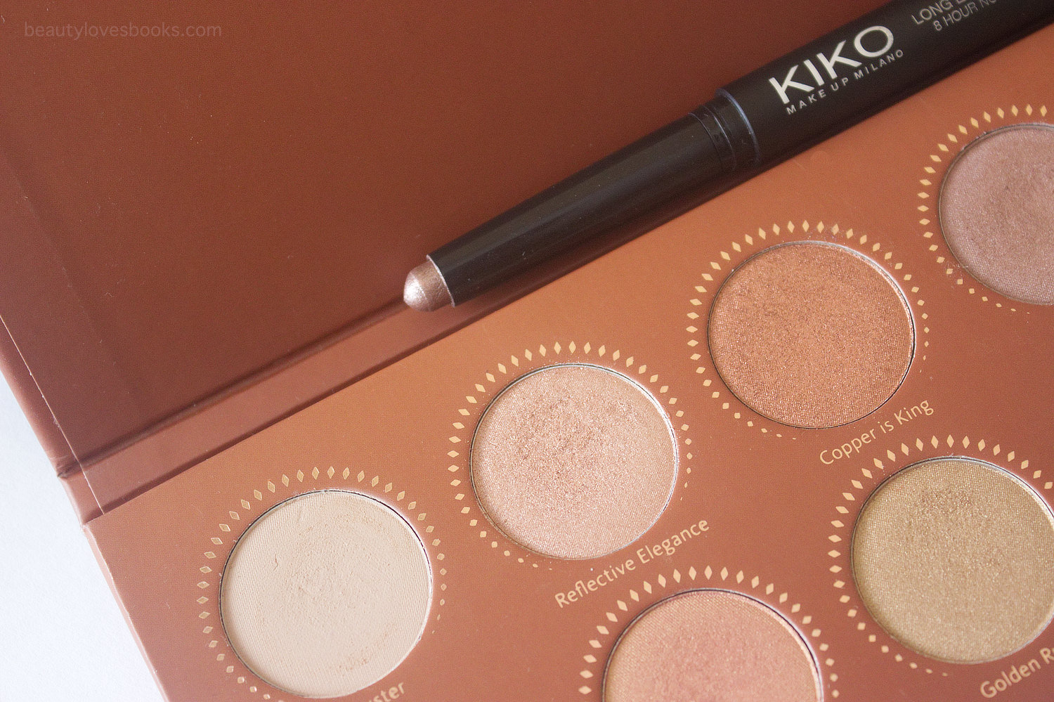 KIKO Long Lasting Stick in 05 Rosy Brown and Zoeva Rose Golden palette