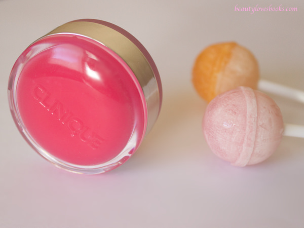 Clinique Sweet pots sugar scrub & lip balm in 03 pink framboise