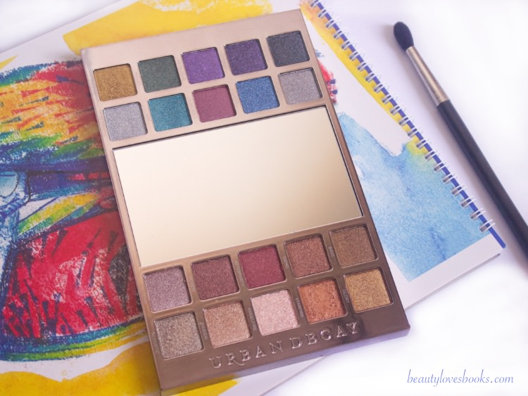 Urban Decay Heavy metals eyeshadow palette 2017 holiday
