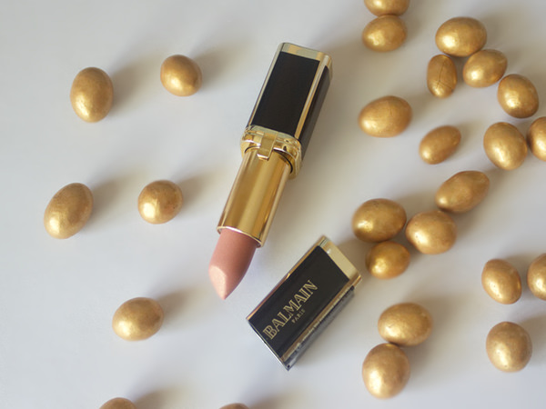 L'Oréal X Balmain Color Riche lipstick in the shade Confidence