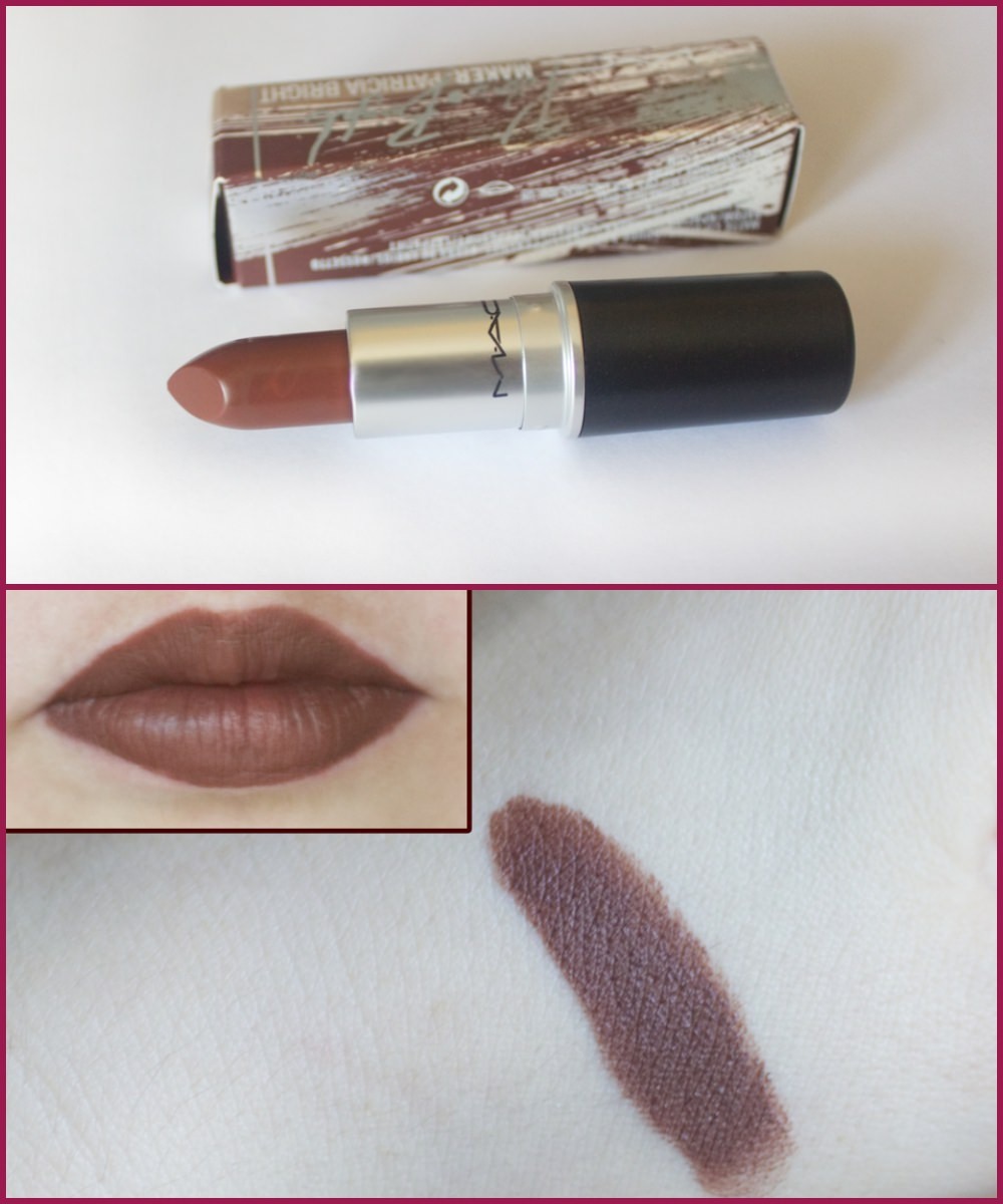 MAC @PatriciaBright lipstick