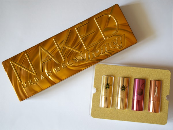 Urban Decay Sweet Little Vices set and Urban Decay Naked Honey eyeshadow palette